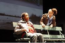 BABY GIRL   by Roy Williams   director: Paul Miller <br>,l-r: Candassaie Liburd (Kelle), Apaiketuya Marchant (Danielle),Cottesloe Theatre / National Theatre (NT), London SE1    28/02/2008      ,
