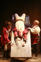 "I""LL BE THE DEVIL   by Leo Butler   design: Lizzie Clachan   director: Ramin Gray <br>,l-r: Edward Mcliam (Captain Farrell), Colm Gormley (Lance Corporal Finnigan), Gerard Murphy (Sergeant Brown),Roya..."