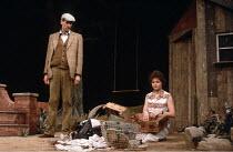 INTIMATE EXCHANGES   by Alan Ayckbourn   designer: Edward Lipscomb   director: Alan Ayckbourn <br>,Robin Herford, Lavinia Bertram   ,Greenwich Theatre, London SE10              11/06/1984   ,