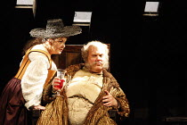 FALSTAFF   by Verdi   after Shakespeare^s ^The Merry Wives of Windsor^   conductor: Carlo Rizzi   ,set design: Lucio Fanti   costumes: Moidele Bickel   director: Peter Stein <br>,Anne-Marie Owens (Mis...