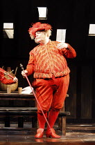 FALSTAFF   by Verdi   after Shakespeare^s ^The Merry Wives of Windsor^   ,conductor: Carlo Rizzi   set design: Lucio Fanti   ,costumes: Moidele Bickel   director: Peter Stein <br>,Sir John prepares to...
