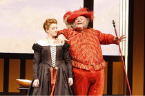 FALSTAFF   by Verdi   after Shakespeare^s ^The Merry Wives of Windsor^   conductor: Carlo Rizzi   ,set design: Lucio Fanti   costumes: Moidele Bickel   director: Peter Stein <br>,Janice Watson (Alice...