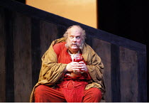 FALSTAFF   by Verdi   after Shakespeare^s ^The Merry Wives of Windsor^   conductor: Carlo Rizzi   ,set design: Lucio Fanti   costumes: Moidele Bickel   director: Peter Stein <br>,Act III - Falstaff re...