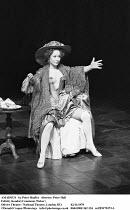 AMADEUS   by Peter Shaffer   design & lighting: John Bury  director: Peter Hall ~ ~Felicity Kendal (Constanze Weber)~Olivier Theatre, National Theatre (NT), London SE1  02/11/1979~(c) Donald Cooper/Ph...