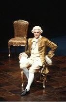AMADEUS   by Peter Shaffer   design & lighting: John Bury  director: Peter Hall ~ ~Paul Scofield (as Antonio Salieri) ~Olivier Theatre, National Theatre (NT), London SE1  02/11/1979~(c) Donald Cooper/...
