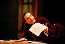 AMADEUS   by Peter Shaffer   design: Bill Dudley   director: Peter Hall ~~David Suchet (as Antonio Salieri)~Old Vic Theatre, London SE1  21/10/1998  ~(c) Donald Cooper/Photostage   photos@photostage.c...