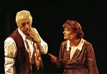 ALL MY SONS   by Arthur Miller   director: Howard Davies <br> ~James Hazeldine (Joe Keller),  Julie Walters (Kate Keller) ~Cottesloe Theatre, National Theatre (NT), London SE1  06/07/2000 ~(c) Donald...
