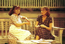 ALL MY SONS   by Arthur Miller   director: Howard Davies <br> ~l-r: Julie Walters (Kate Keller), Catherine McCormack (Ann Deever) ~Cottesloe Theatre, National Theatre (NT), London SE1  06/07/2000 ~(c)...