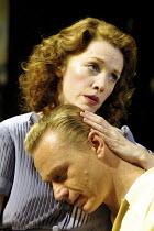ALL MY SONS   by Arthur Miller   director: Howard Davies <br> ~Madeleine Potter (Ann Deever), Ben Daniels (Chris Keller) ~Lyttelton Theatre, National Theatre (NT), London SE1  07/08/2001 ~(c) Donald C...