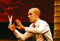 'ACT WITHOUT WORDS I' (Beckett),Conor Lovett (Man),Gate Theatre, Dublin / The Pit  07/09/1999~(c) Donald Cooper/Photostage   photos@photostage.co.uk   ref/A25