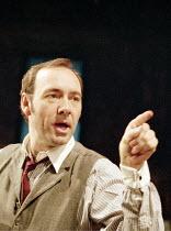 THE ICEMAN COMETH   by Eugene O^Neill   design: Bob Crowley   director: Howard Davies ,Kevin Spacey (Theodore Hickman / Hickey)   ,Almeida Theatre, London N1                      14/04/1998        ,