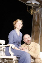 THE LADY FROM THE SEA   by Henrik Ibsen   adapted by Mike Poulton   design: Mike Britton   director: Lucy Bailey <br>,Claire Price (Ellida Wangel), Louis Hilyer (Dr Wangel),Birmingham Repertory Theatr...