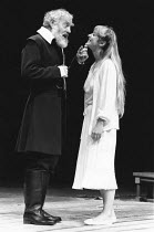 HAMLET   by Shakespeare   design: Ralph Koltai   director: John Barton   Tony Church (Polonius), Carol Royle (Ophelia),Royal Shakespeare Company (RSC) / Royal Shakespeare Theatre     Stratford-upon-A...