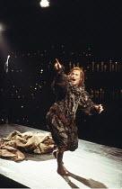THE REVENGER^S TRAGEDY   by Cyril Tourneur   design: Michael Levine   director: Di Trevis <br>,Nicholas Farrell (Lussurioso),Royal Shakespeare Company (RSC) / Pit Theatre, Barbican Centre, London EC2...