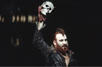 THE REVENGER^S TRAGEDY   by Cyril Tourneur   design: Michael Levine   director: Di Trevis <br>,Antony Sher (Vindice),Royal Shakespeare Company (RSC) / Pit Theatre, Barbican Centre, London EC2   23/05/...