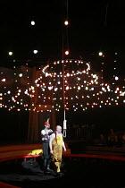PUNCH AND JUDY   composer: Harrison Birtwistle   librettist: Stephen Pruslin   ,conductor: Edward Gardner   design: Giles Cadle   lighting: Peter Mumford   director: Daniel Kramer <br>,Punch is taken...