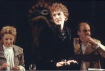 THREE SISTERS   by Anton Chekhov   set design: Timothy O'Brien   costumes: Louise Belson   director: John Barton <br> ,left: Stella Gonet (Irina)   centre: Harriet Walter (Masha),Royal Shakespeare Com...