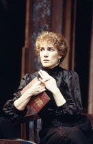 THREE SISTERS   by Anton Chekhov   set design: Timothy O'Brien   costumes: Louise Belson   director: John Barton <br> ,Harriet Walter (Masha),Royal Shakespeare Company (RSC) / Barbican Theatre, London...