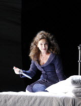 MACBETH  by Verdi  after Shakespeare  conductor: Richard Farnes  set design: Johan Engels  costumes: Brigitte Reiffenstuel  director: Tim Albery ~Antonia Cifrone (Lady Macbeth)~Opera North, Leeds, Eng...