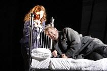 MACBETH  by Verdi  after Shakespeare  conductor: Richard Farnes  set design: Johan Engels  costumes: Brigitte Reiffenstuel  director: Tim Albery ~Antonia Cifrone (Lady Macbeth), Robert Hayward (Macbet...