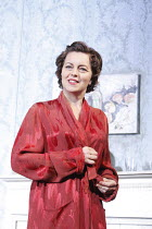 THE DEEP BLUE SEA   by Terence Rattigan  , design: Francis O^Connor   director: Edward Hall <br>,Greta Scacchi (Hester Collyer)   ,Vaudeville Theatre, London WC2                    13/05/2008,