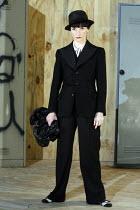 THE GOOD SOUL OF SZECHUAN   by Bertolt Brecht   translated by David Harrower   ,set design: Miriam Buether   costumes: Nicky Gillibrand   director: Richard Jones ,Jane Horrocks (Shui Ta),The Young Vic...
