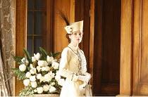 PYGMALION   by George Bernard Shaw   set design: Simon Higlett   costumes: Christopher Woods   director: Peter Hall <br>,Michelle Dockery (Eliza Doolittle),Theatre Royal Bath production (2007) / Old V...