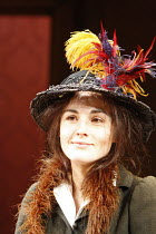 PYGMALION   by George Bernard Shaw   ,set design: Simon Higlett   costumes: Christopher Woods   director: Peter Hall <br>,Michelle Dockery (Eliza Doolittle),Theatre Royal Bath production (2007) / Old...