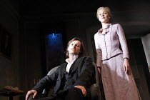 ROSMERSHOLM   by Henrik Ibsen   in a version by Mike Poulton   ,set design: Hildegard Bechtler   costumes: Amy Roberts   lighting: Peter Mumford   director: Anthony Page <br>,Paul Hilton (Johannes Ros...