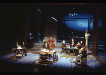 THE SEAGULL   by Anton Chekhov   in a new version by Pam Gems   set design: John Gunter  costumes: Fotini Dimou   lighting: David Hersey   director: John Caird  ~stage~Olivier Theatre / National Theat...