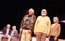 LOVE   The Musical   created by Gisli Orn Gardarsson & Vikingur Kristjansson   adapted by David Farr   ,design: Borkur Jonsson   lighting: Natasha Chivers   director: Gisli Orn Gardarsson <br>,l-r: Ju...