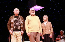 LOVE   The Musical   created by Gisli Orn Gardarsson & Vikingur Kristjansson   adapted by David Farr   ,design: Borkur Jonsson   lighting: Natasha Chivers   director: Gisli Orn Gardarsson <br>,l-r: Du...