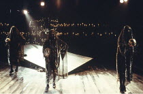 THE REVENGER^S TRAGEDY   by Cyril Tourneur / Thomas Middleton   design: Michael Levine   director: Di Trevis <br>,,Royal Shakespeare Company (RSC) / Pit Theatre, Barbican Centre, London EC2   23/05/19...