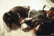 THE REVENGER^S TRAGEDY   by Cyril Tourneur / Thomas Middleton   design: Michael Levine   director: Di Trevis <br>,final scene,Royal Shakespeare Company (RSC) / Pit Theatre, Barbican Centre, London EC2...