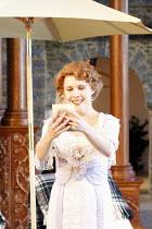 COSI FAN TUTTE   music: Mozart   libretto: da Ponte   conductor: Steuart Bedford   ,design: Robert Perdziola   lighting: Bruno Poet   director: John Cox <br>,Anna St�phany (Dorabella)   ,Garsington Op...