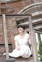ROMEO AND JULIET   by Shakespeare   ,set design: Robert Innes Hopkins   costumes: Fotini Dimou   director: Timothy Sheader <br>,Laura Donnelly (Juliet)   ,Open Air Theatre (OAT) / Regent^s Park, Londo...