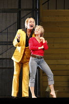 ARIADNE AUF NAXOS   by Richard Strauss   conductor: Mark Elder   ~design: Herbert Murauer   lighting: Jennifer Tipton   director: Christof Loy ~Alan Oke (A Dancing Master), Gillian Keith (Zerbinetta)...