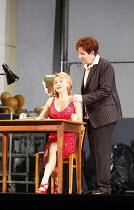 ARIADNE AUF NAXOS   by Richard Strauss   conductor: Mark Elder   ~design: Herbert Murauer   lighting: Jennifer Tipton   director: Christof Loy ~l-r: Gillian Keith (Zerbinetta), Kristine Jepson (The Co...