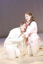 THE RAKE'S PROGRESS   music: Igor Stravinsky   libretto: W H Auden & Chester Kallman   conductor: Martin Andre    design: Niki Turner   director: Olivia Fuchs   Ann visits Tom in the asylum: Robert...