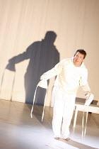THE RAKE'S PROGRESS   music: Igor Stravinsky   libretto: W H Auden & Chester Kallman   conductor: Martin Andre    design: Niki Turner   director: Olivia Fuchs   in the asylum: Robert Murray (Tom Rak...