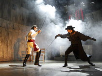 ZORRO   book & lyrics: Stephen Clark   music: The Gipsy Kings   original story: Stephen Clark & Helen Edmundson   ~design: Tom Piper   lighting: Ben Ormerod   chorepgraphy: Rafael Amargo   director: C...