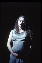 MEASURE FOR MEASURE   by Shakespeare   design: Ashley Martin-Davies   director: Steven Pimlott   Monica Dolan (Juliet) Royal Shakespeare Company (RSC) / Royal Shakespeare Theatre     Stratford-upon-...