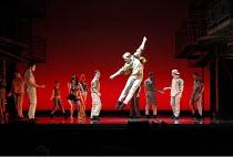 WEST SIDE STORY   music: Leonard Bernstein   book: Arthur Laurents   lyrics: Stephen Sondheim   ~original direction & choreography: Jerome Robbins   new direction & choreography by Joey McKneely ~Leo...