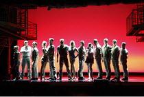 WEST SIDE STORY   music: Leonard Bernstein   book: Arthur Laurents   lyrics: Stephen Sondheim   ~original direction & choreography: Jerome Robbins   new direction & choreography by Joey McKneely ~~50t...