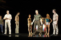WEST SIDE STORY   music: Leonard Bernstein   book: Arthur Laurents   lyrics: Stephen Sondheim   ~original direction & choreography: Jerome Robbins   new direction & choreography by Joey McKneely ~fron...
