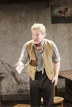 IVANOV   by Chekhov   in a new version by Tom Stoppard   ~design: Christopher Oram   lighting: Paule Constable   director: Michael Grandage ~Kenneth Branagh (Ivanov)~Donmar West End at Wyndham's Theat...