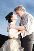 IVANOV   by Chekhov   in a new version by Tom Stoppard   ~design: Christopher Oram   lighting: Paule Constable   director: Michael Grandage ~Gina McKee (Anna Petrovna), Kenneth Branagh (Ivanov)~Donmar...