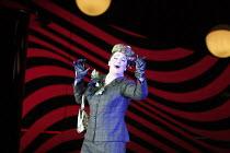 LA CALISTO   by Francesco Cavalli   conductor: Ivor Bolton   set design: Paul Steinberg   costumes: Buki Shiff   lighting: Pat Collins   director: David Alden   Guy de Mey (Linfea) The Royal Opera (...