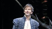 LOVE'S LABOUR'S LOST   by Shakespeare   set design: Francis O'Connor   costumes: Katrina Lindsay   lighting: Tim Mitchell   director: Gregory Doran ~David Tennant (Berowne)~Royal Shakespeare Company (...