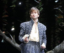 LOVE'S LABOUR'S LOST   by Shakespeare   set design: Francis O'Connor   costumes: Katrina Lindsay   ~lighting: Tim Mitchell   director: Gregory Doran ~David Tennant (Berowne)~Royal Shakespeare Company...